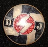 WWII GERMAN DJ MEMBERSHIP BADGE