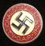 WWII GERMAN NSDAP MEMBERSHIP BADGE M1/146