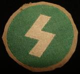 WWII GERMAN DJ SIGRUNE SLEEVE BADGE Oberbann 3