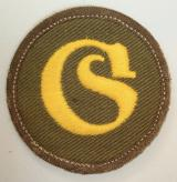WWII GERMAN TROPICAL SCHIRMMEISTER TRADE PATCH