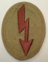 WWII GERMAN TROPICAL DARK BROWN SIGNAL BLITZ