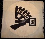 WWII GERMAN NSBO SPORTS SHIRT CLOTH PATCH