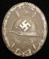WWII GERMAN BLACK WOUND BADGE L/24