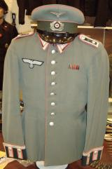 WWII GERMAN PANZER UNTEROFFIZIER'S M35 DRESS TUNI