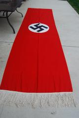 WWII GERMAN NSDAP BUILDING FLAG