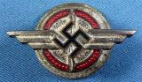 WWII GERMAN DLV MEMBER LAPEL PIN