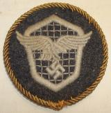 WWII GERMAN LW MOTOR VEHICLE DRIVER'S TRADE BADGE