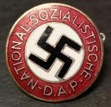WWII GERMAN NSDAP MEMBERSHIP BADGE RARE MAKER 48