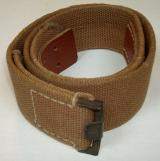 WWII GERMAN EM/NCO'S TROPICAL BELT