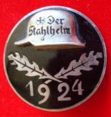 "1924 ""STAHLHELM"" MEMBER'S COMMEMORATIVE BADGE"