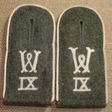 WWII GERMAN INFANTRY RECRUITING SHOULDER STRAPS