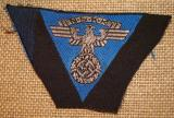 WWII GERMAN NSKK 1st PATTERN CAP EAGLE,HOCHLAND