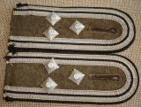 WWII GERMAN RAD HIGH RANKING NCO STRAPS