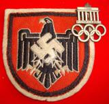WWII GERMAN NSRL OLYMPIC GAMES SPORTS INSIGNIA and