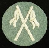 WWII GERMAN MOUNTED POLICE PATCH