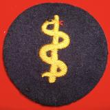 WWII KRIEGSMARINE MEDICAL TRADE PATCH