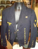 WWII GERMAN KRIEGSMARINE DRESS TUNIC