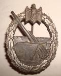 WWII GERMAN COASTAL ARTILLERY BADGE