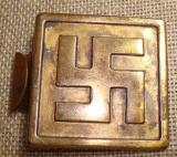 WWII GERMAN EARLY NSDAP BELT BUCKLE