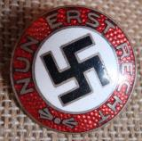 WWII GERMAN NUN ERST RECHT PROPAGANDA BADGE 22MM