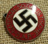 WWII GERMAN NSDAP MEMBERSHIP BADGE M1/34