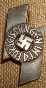 WWII GERMAN DJ PROFICIENCY BADGE