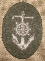 WWII GERMAN STEUERMANN BADGE