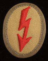 WWII GERMAN TROPICAL ARTILLERY SIGNAL BLITZ