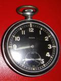WWII GERMAN POCKET WATCH MARKED TO GERMAN ARMY