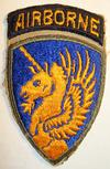 ORIGINAL WW2 13TH AIRBORNE DIV. PATCH