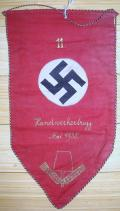 EARLY WWII GERMAN RAD PENNANT