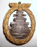 WWII GERMAN FLEET BADGE