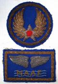 WWII - MAAF Bullion Theatre Patch Set