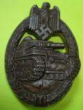 PANZER ASSAULT BADGE IN BRONZE R.S.