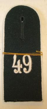 WWII GERMAN EM INFANTRY SHOULDER STRAPS