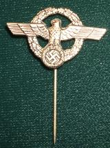 WWII GERMAN POLICE STICK PIN