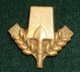 WWII GERMAN FAD CAP BADGE