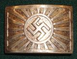 WWII GERMAN YOUTH/SUPPORTER BUCKLE JAPANESE?
