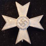 WWII GERMAN WAR MERIT CROSS 1ST CLASS WITHOUT SWOR