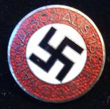 WWII GERMAN NSDAP MEMBERSHIP BADGE M1/153