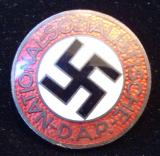 WWII GERMAN NSDAP MEMBERSHIP BADGE M1/13