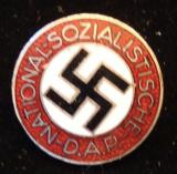 WWII GERMAN NSDAP MEMBERSHIP BADGE M1/155