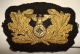 WWII GERMAN SA MARINE CAP WREATH