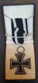 WWI GERMAN IRON CROSS 2nd CLASS CASED