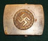WWII GERMAN YOUTH/SUPPORTER BUCKLE