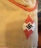 WWII GERMAN HJ OVERSEAS CAP