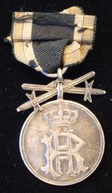WWI GERMAN REUSS MERIT MEDAL WITH SWORDS
