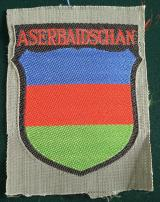 WWII GERMAN ASERBEIDSHANIAN VOLUNTEER'S SLEEVE SH