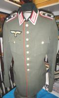 WWII GERMAN WALKING OUT DRESS NCO TUNIC ARTILLERY