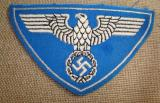 WWII GERMAN REICHSPOST SPORT SHIRT EAGLE